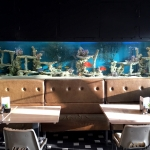 Trendy Restaurant Bar Aquarium